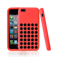 Wholesale 5C case Official Silicone Case Cover for iPhone C iphone5C Colors Cell Phone Cases Free FEDEX DHL sample