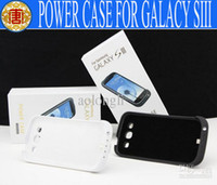 For Samsung External Battery case - mAh External Battery Power Backup Battery Charger Case with Stand Holder Galaxy S3 SIII i9300