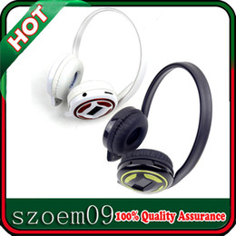 Wholesale Outdoor IN For MP4 PC Phone Player FM Radio LCD Display Digital Wireless MP3 Earphone Headphone