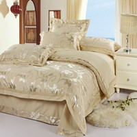 Wholesale Noble king Silk bedding set silk duvet cover silk comforter set bed sheet
