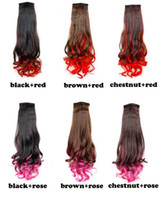 Wholesale promote sales Hair Piece Curly Ponytail Pony Tail LADY Wig Clip On Hair Extensions