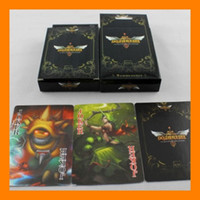 Wholesale LOL Game League of Legends Poker Playing Card Style Animation Around Games Poker card