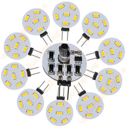 Wholesale 50pcs High Quality G4 RV Boat SMD LED Bulb Warm White Light V V AC LM for best price