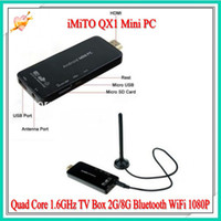 DHL free 1pcs lot iMiTO QX1 Mini PC Google Android 4. 2 RK318...
