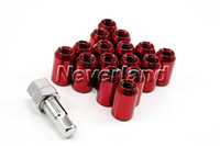 Wholesale Neverland Auto Car Racing Alloy Wheel lug nut nuts kit sets x mm screw
