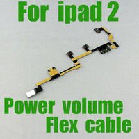 Wholesale Best selling Power Volume swith on off button control power flex cable for ipad for G wifi CDMA version