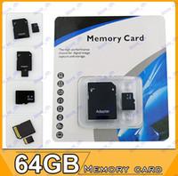 TF / Micro SD Card 64GB 50pcs 64GB Micro SD SDHC MicroSD TF memory card 64GB Gift For MARKII 5D 60D 70D 6D 600D 350D 400D EOS-1X