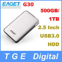 Wholesale Original Eaget G30 GB TB quot Inch USB Portable HDD External Hard Drive Disk High Speed Silver