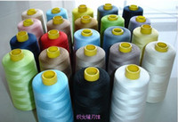 Wholesale 40s High quality export line accessories DIY manual color sewing thread on cone sewing thread polyester thread
