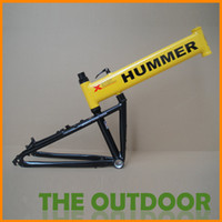 Wholesale New Folding Bikes Frame Hummer MTB Frames in the United States Detachable Color inch Aluminum Alloy Bike Frames HW0229
