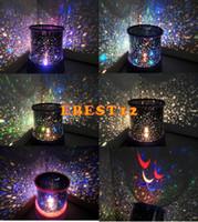 Wholesale 1pcs New Novelty Amazing Flashing Colorful LED Star Master Light Star Projector Holiday LED Night Light Lamp Novelty Gifts