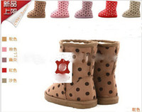 baby camels - 10 off EMS Camel Baby warm Shoes children s dot snow booties yards walker shoes cheap toddler warm shoes pairs ZD