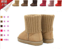 Wholesale 10 off Hot sale EMS Camel baby toddler Shoes yards children s snow booties first walker shoes cheap warm shoes new pairs ZD