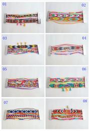 Wholesale 10 Hot Sale women s Fashion Colorful Magnetic Hipanema Bracelets Brazilian Multi Styles Best Choices Christmas gift