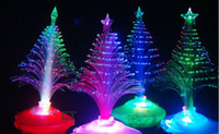 fiber optic tree - Hot sale The Christmas tree Christmas gift fiber optic light Christmas hat activity supplies