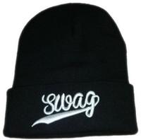 Wholesale Swag Beanies Knit Beanies Hip Hop Street Headwear Strap back Hat Pom Pom Beanies Snapbacks Hats Sport Caps Hats Winter Wear Beanies