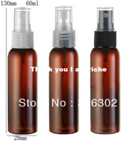 Yes Plastic Refillable Bottles Free shipping - 60ml amber plastic bottle, 2 oz mist spray bottle, 60cc plastic perfume bottle,60ml amber bottle