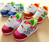 Unisex Spring / Autumn Cotton 30%off 22-26 yards, * N * word casual sports shoes. Velcro toddler shoes cheap baby wear sale kid shoes china 5pair 10pcs ZL