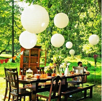 Lantern Holiday  paper lanterns paper latern 10-40cm Paper Lanterns For Wedding Party Decorations decorative laterns outdoor lighting 004