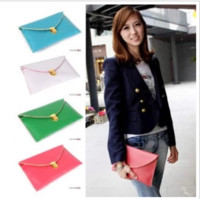 Wholesale Y613 Womens Envelope Clutch Chain Purse Lady Handbag Tote Shoulder Hand Bag colors