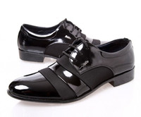 Wholesale Popular new black pu leather shoes dress shoes men s casual shoes groom wedding shoes liqinghui2011