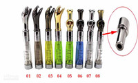 Electronic Cigarette Atomizer  E-cig EGo Cartommizer Drip Tip Stainless Steel Clearomizer Metal Drip Tip Adapter Connector for CE4 CE4+ CE5 CE5+ Series Tank EGO Adapter