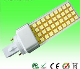 Ultra Bright Led Plug light 9W E27 G23 G24 Base 900LM 9W SMD5050 LED Bulb LED Lighting 10pcs