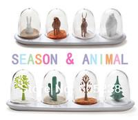 Wholesale Creative Seasoning Shaker Plant amp Animal Style Spices Cruet Box Set