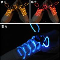 Wholesale LED shoelace Light up shoelaces shoe laces flashing Laser shoelaces Colorful flash shining shoelace pair