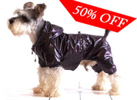 pvc decking - Hot Sell Dog Raincoat Pet Raincoat Clothes Double deck PVC Waterproof Polyester Material Blue Black amp Coffee