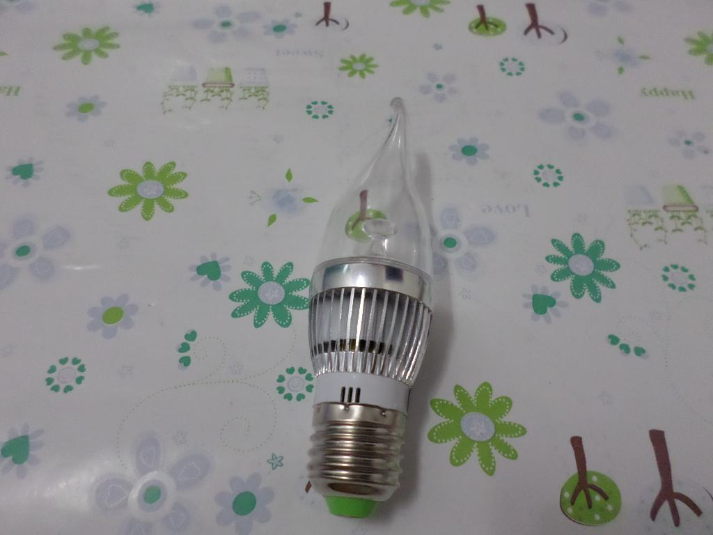Buy 9W led light candle E14/e27/e12 Dimmable Light Bulb Candle Lamp White/warm 85V - 265V
