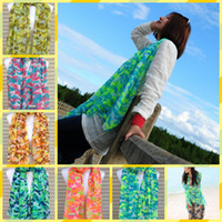 Wholesale 2013 new printing Bali Sha fluorescence Camouflage Scarf beach towel colors