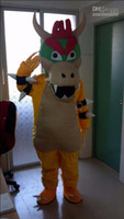 Christmas bowser costume - SUPER MARIO BOWSER KOOPA Mascot Costumes Halloween Fancy Dress Outfit Suit Adult Size
