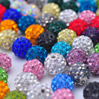 Wholesale disco crystal clay beads for bracelets accessories Necklace accessories Other DIY products assorted W32401Y66