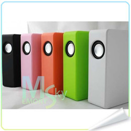 Wholesale Rechargeable CUBE Boose Amplifying Speaker Wireless Near Field Audio Intreaction For Android Smart Phone S G S C