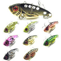 Wholesale Fishing Lure Blade Lure VIB Hard Bait Fresh Water Shallow Water Bass Walleye Crappie Minnow Fishing Tackle BL3