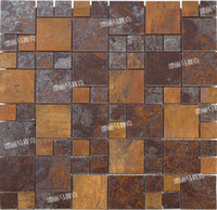 Wholesale metal copper mosaic