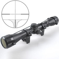 Wholesale 4X32 Fully Coated Optics Crossbow Scope Five Line Reticle Archery Riflescope Sight Outdoor
