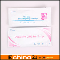 Wholesale 1000pcs Pregnancy Test Strip One Step HCG Urine Test Strip Ovulation test LH Strip