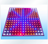 Blue Red White Orange 15W Square Hydroponic 15W 225 LED Grow Light Panel Stimulate Lamp LED Grow Light