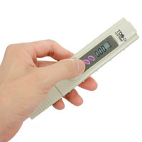Wholesale Digital TDS Meter Tester Filter Water Quality Purity tester Pen Stick Tester TDS TEMP PPM with case dropshipping