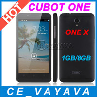 4.7 Android 1G 4.7 Inch Original CUBOT ONE 1GB RAM 8GB ROM HD IPS Screen Unlocked MTK6589 Quad Core 1.5GHZ 3G GPS 8MP Camera Android 4.2