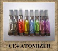 Wholesale CE4 CE5 CE6 atomizer eGo series newest cartomizer for electronic cigarette ecig ego t ego w e cigarette