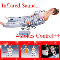 Wholesale 4 Zoon FIR Far Infrared Sauna Blank Heat Fitness Healthy Detox Slim Spa Body Shaping Wrap System Slimming Beauty Machine