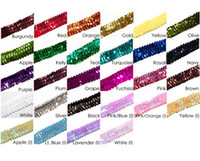 Wholesale Stretch Sequin Headband Team Softball Basketball Volleyball Soccer Track