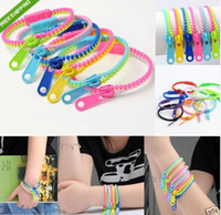 Wholesale ZIP BRACELET KIDS ADULTS UNISEX FASHION ACCESSORY ZIPPER ARMBAND