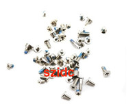 Wholesale Full Screw Set with O ring For iPhone Replacement Parts Original New Free CN HK SG Post