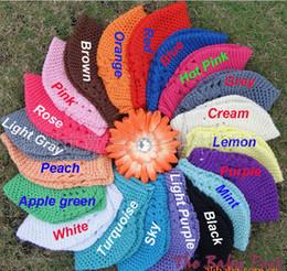 Wholesale Baby Toddler Kufi Crochet Beanie Baby Kufi Hat Kufi Cap Baby Girl s Crochet Beanie LK2109M