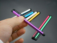 Wholesale DHL Freeshipping Stylus pen High Sensitive touch pen capacity screen Stulus for ipad for iphone G S
