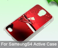 Cheap For Samsung S4 active DIY Sublimation Best Plastic White S4 active sublimation